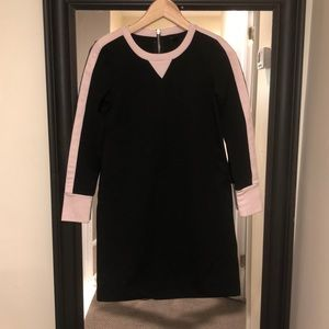 Jcrew wool mini dress long sleeve